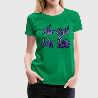 Kiffe I do not care for Kiffe - Women's Premium T-Shirt