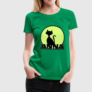 Anna Name First name - Women's Premium T-Shirt