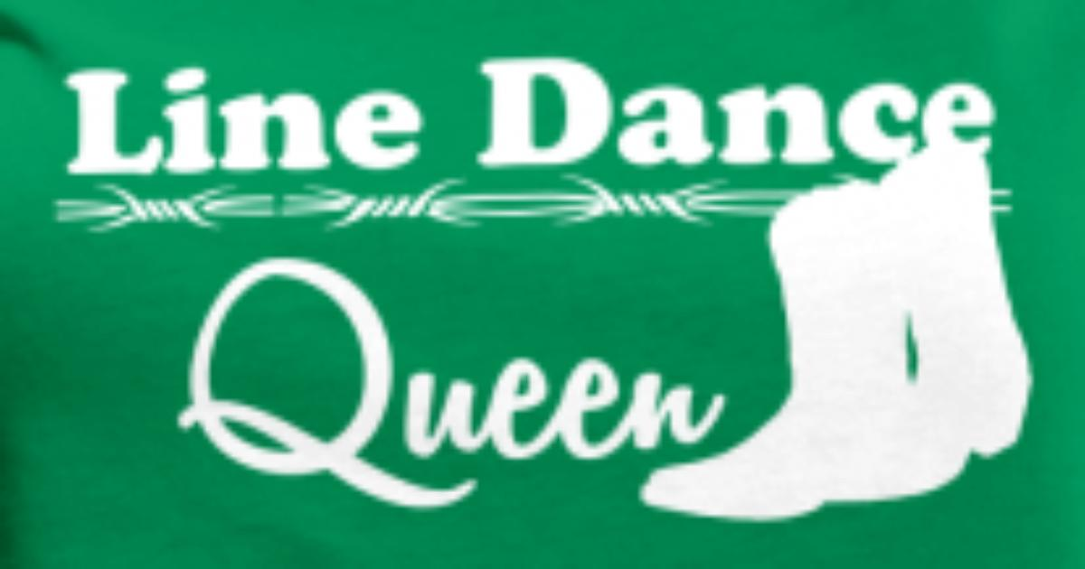 line dance queen von horsedesign spreadshirt. Black Bedroom Furniture Sets. Home Design Ideas