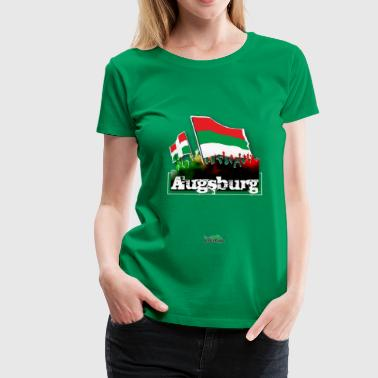 augsburg all4one - Frauen Premium T-Shirt