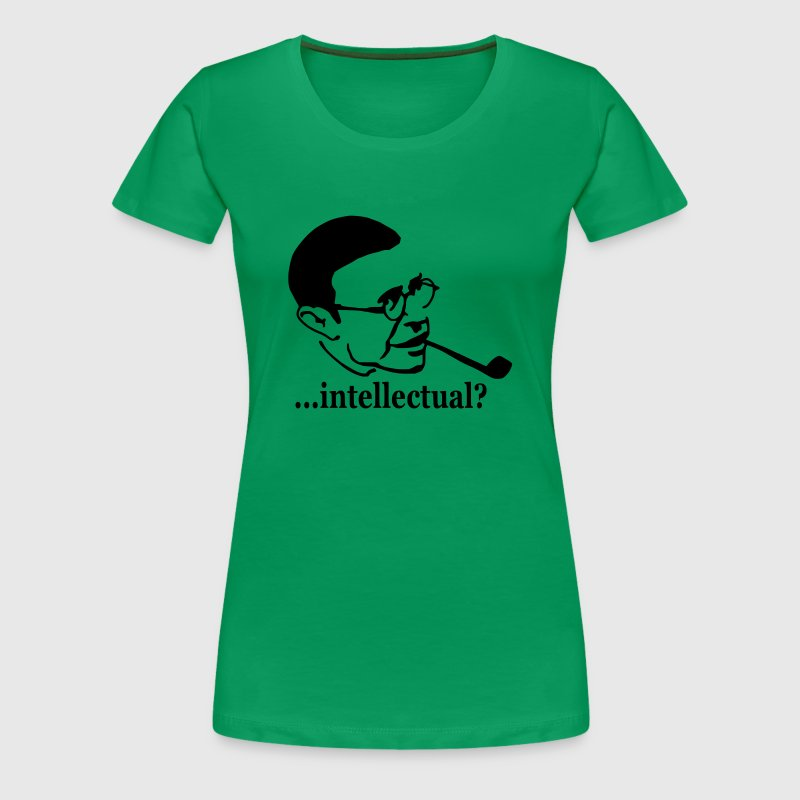 Jean-Paul Sartre - ...intellectual? - Camiseta premium mujer
