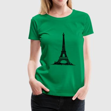 Eiffel Tower Paris - Women's Premium T-Shirt