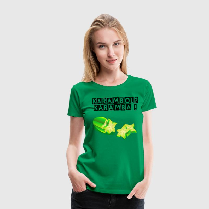 Star fruit Carom - cut - Women's Premium T-Shirt