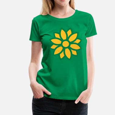 Flow flower - Frauen Premium T-Shirt