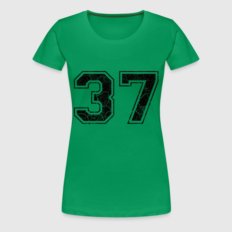 Number 37 in the used look - Women's Premium T-Shirt