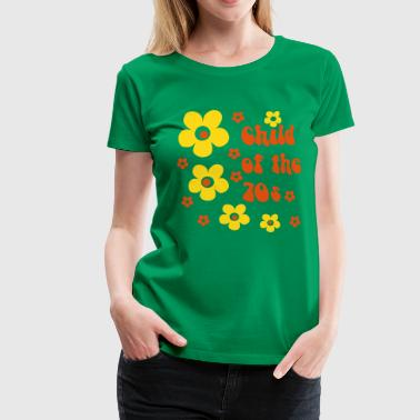 Child of the 70s - Women's Premium T-Shirt