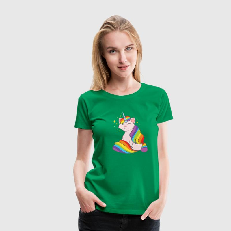 Caticorn Mugs & Drinkware - Women's Premium T-Shirt