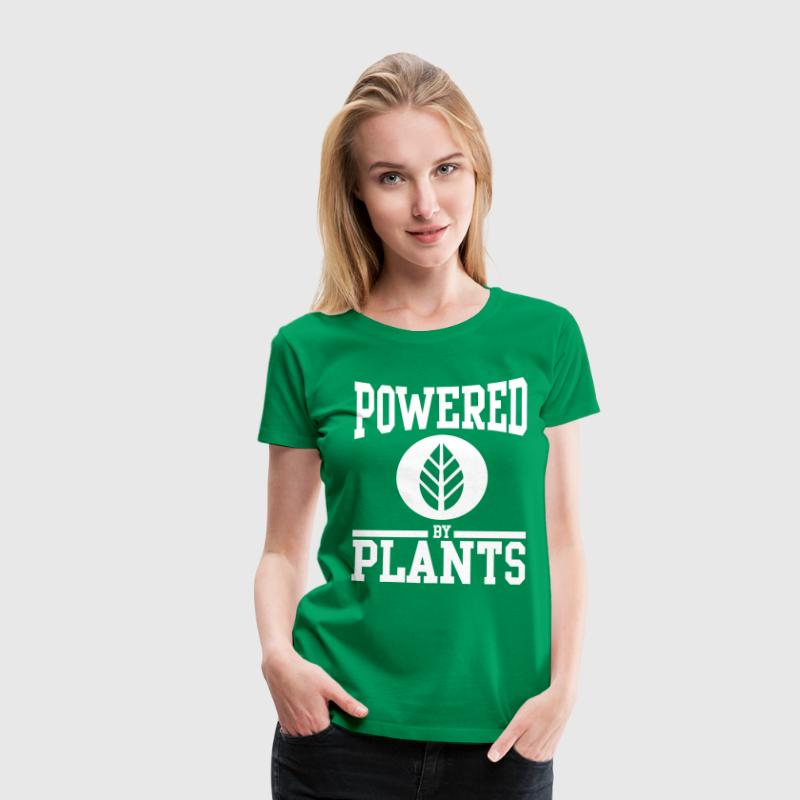Powered by plants - Camiseta premium mujer