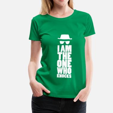 Tv I am the one who knocks - Women's Premium T-Shirt