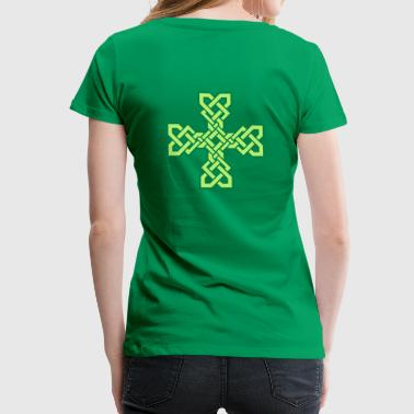 Celtic Symbol Celtic Cross - Women's Premium T-Shirt