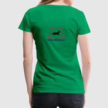 Obedience - Premium-T-shirt dam