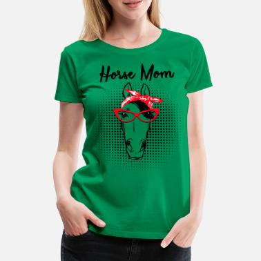 Dessiner Cheval - cheval MOM MP  - T-shirt Premium Femme