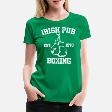 Irish Festivals Irish Pub Boxing - Naisten premium t-paita
