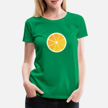 orange slice - Vrouwen premium T-shirt