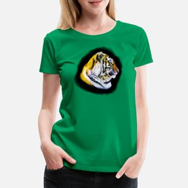 Tiger Head Tigers Head - Women's Premium T-Shirt