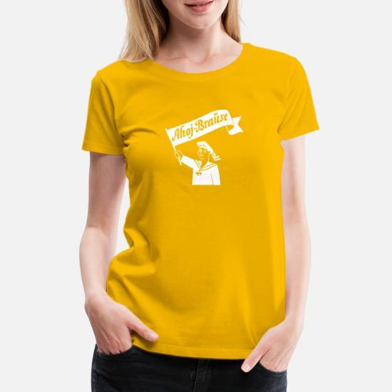 Ahoj Shirt Gelb