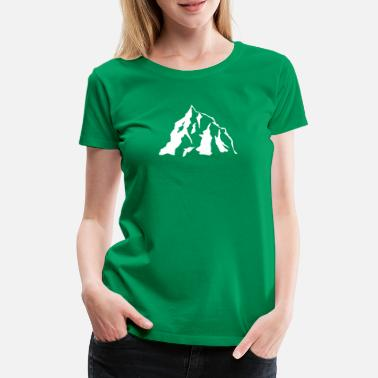 Icon Mountain Icon - Vrouwen premium T-shirt