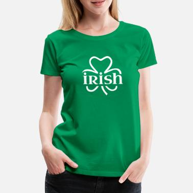 Irland Irish shamrock - Frauen Premium T-Shirt