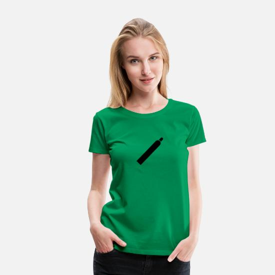 Symbole & Formen T-Shirts - Gas - Frauen Premium T-Shirt Kelly Green
