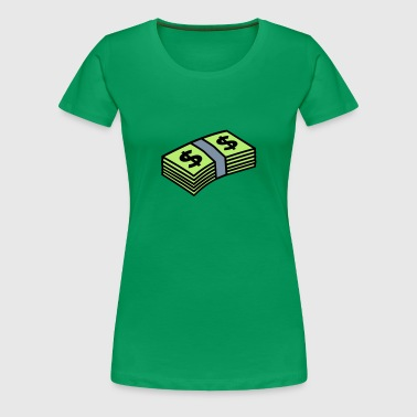 Money dollars 3 colors - Premium-T-shirt dam