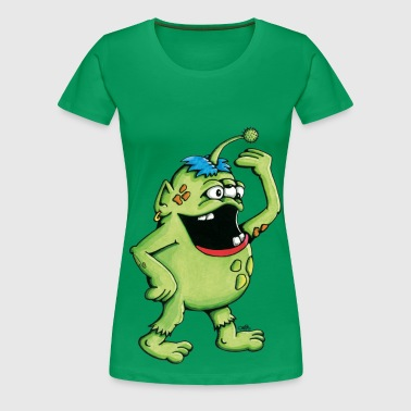 Monster Kinder sweaters - Vrouwen Premium T-shirt