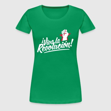 revolution fist - Frauen Premium T-Shirt