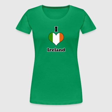 I love Ireland - Premium T-skjorte for kvinner