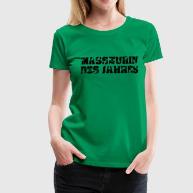 Massage - Frauen Premium T-Shirt