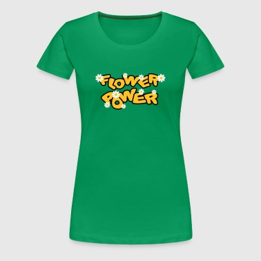 flower_power - Dame premium T-shirt
