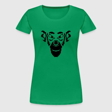 singe animal tribal 13 - T-shirt Premium Femme