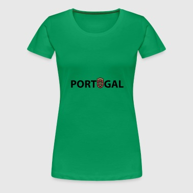 PORTUGAL - Frauen Premium T-Shirt