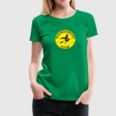 Neighborhood Witch - Premium-T-shirt dam
