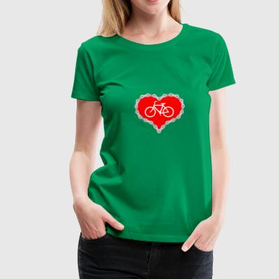 Love Biking - Women's Premium T-Shirt