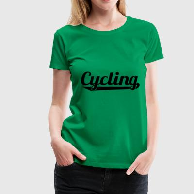 2541614 127338216 cycling - Frauen Premium T-Shirt
