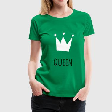 Queen Krone - Frauen Premium T-Shirt