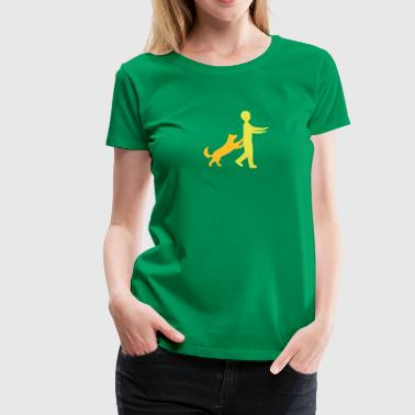 Dog Dancing 1-4 - Frauen Premium T-Shirt
