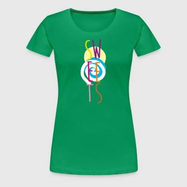 Sweets - Frauen Premium T-Shirt