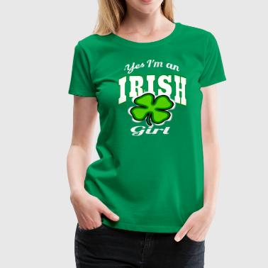 Irish Girl T-Shirt - Frauen Premium T-Shirt