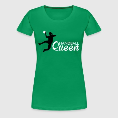handball queen - Premium-T-shirt dam