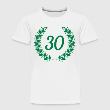 wreath 30th 30 birthday - Kids' Premium T-Shirt