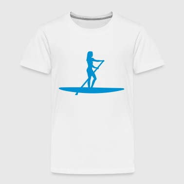 Stand up paddling - Kinder Premium T-Shirt