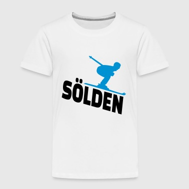 Sölden - Kinder Premium T-Shirt