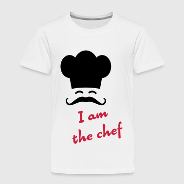 I am the chef - Kinderen Premium T-shirt
