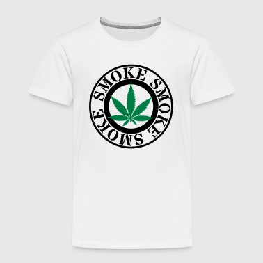 hemp leaf wietblad - Kinderen Premium T-shirt