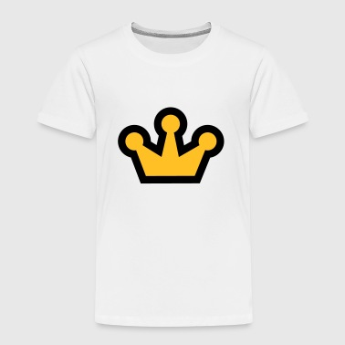 Royal Crown - Camiseta premium niño