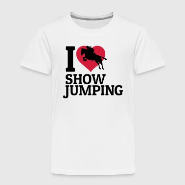 I love showjumping - Kids' Premium T-Shirt