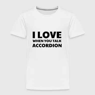Accordion - Accordionist - Accordéon - Music  - Kids' Premium T-Shirt