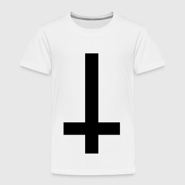 Cross Antichrist reversed 1c - Kids' Premium T-Shirt