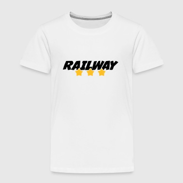 Cheminot / Chemin de fer / Train / Metro - T-shirt Premium Enfant