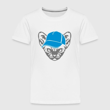 chat animal sauvage casquette 0 - T-shirt Premium Enfant